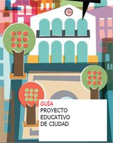 Portada de la guía de proyecto educativo de ciudad