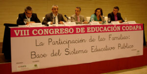 Acto de inauguración del VIII Congreso de Educación de CODAPA