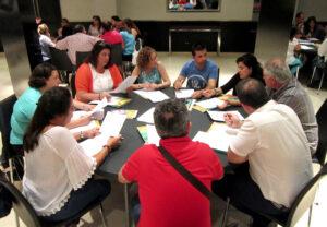 Sesión de grupos de trabajo