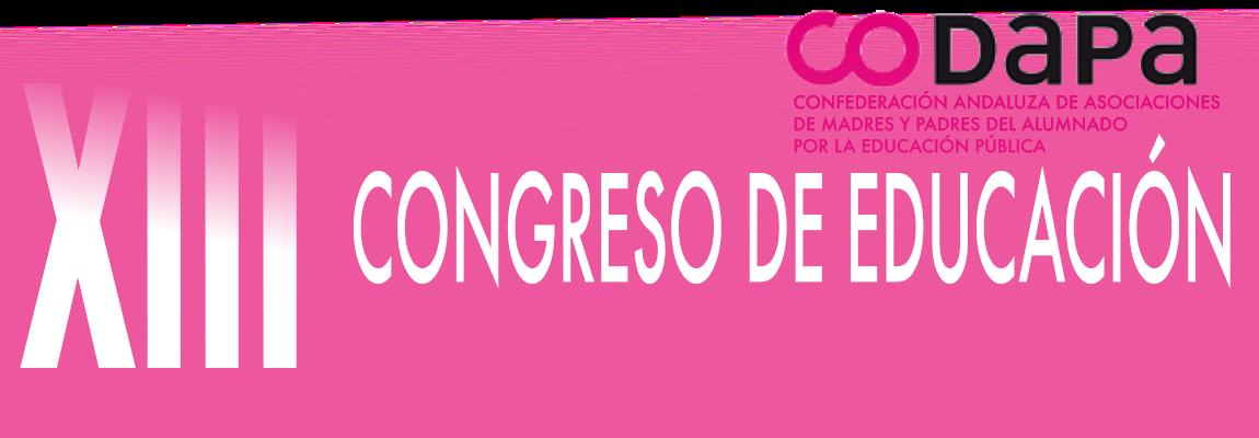 XIII Congreso de Educación CODAPA