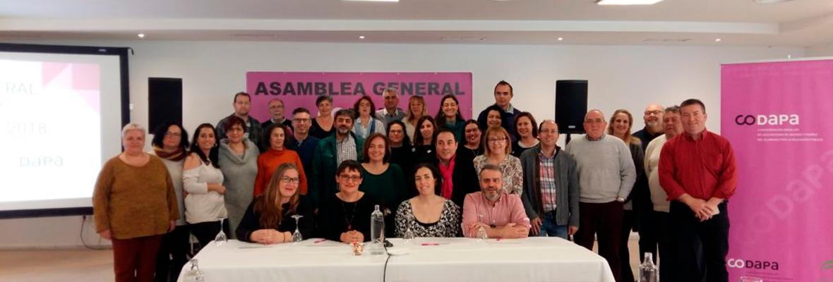 La CODAPA analiza en su asamblea anual los retos en materia educativa del futuro gobierno andaluz