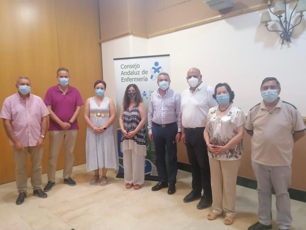 Reunión con el Consejo Andaluz de Enfermería